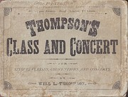 Thompson's Class and Concert de Will L.…
