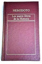 Los Nueve libros de la historia de Herodoto
