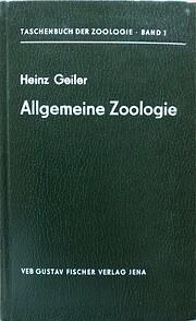 Taschenbuch der allgemeinen Zoologie (German…