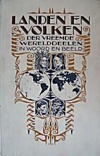 Landen en volken der vreemde werelddeelen in…