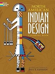 North American Indian Design Coloring Book…