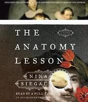 The Anatomy Lesson af Nina Siegal
