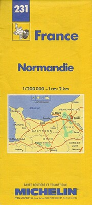 Michelin Normandie (Normandy), France Map…