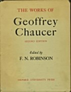 The works of Geoffrey Chaucer by F. N.…