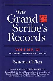 The Grand Scribe's Records, Volume XI: The…