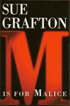 M Is For Malice by Sue Grafton