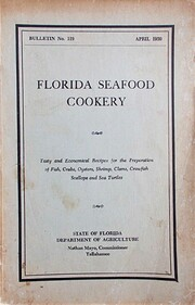 Florida seafood cookery : tasty and…