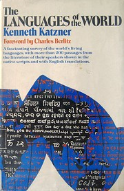 The Languages of the World de Kenneth…
