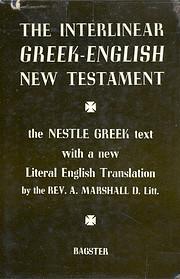 The Interlinear Greek-English New Testament:…