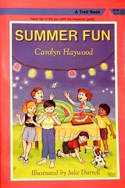 Summer Fun – tekijä: Carolyn Haywood