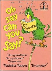 Oh, Say Can You Say? av Theodor Seuss Geisel