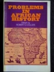 Problems in African History de Robert O…