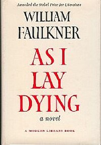 an analysis of the setting in as i lay dying by william faulkner