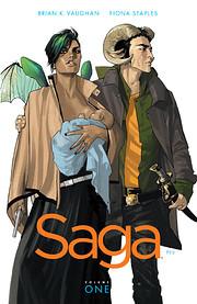 Saga, Vol. 1 (Saga (Comic Series)) av Brian…