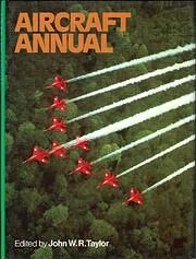 Aircraft Annual 1972 de John W. R. Taylor
