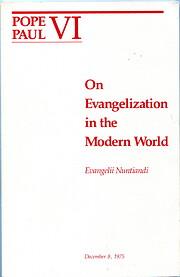 On Evangelization in the Modern World por…