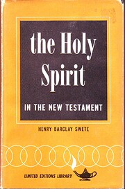 The Holy Spirit in the New Testament par…