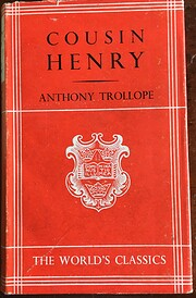 Cousin Henry [green cover] von Anthony…