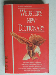 Websters New Dictionary de Not Stated