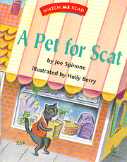 A pet for Scat (Invitations to literacy) av…
