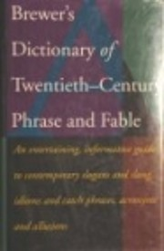 Brewer's Dictionary of…