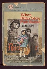 When Hitler stole pink rabbit av Judith Kerr