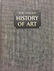 History of Art – tekijä: H. W. Janson
