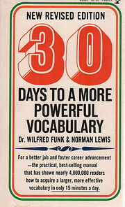 30 Days To A More Powerful Vocabulary de…