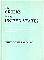 The Greeks in the United States by Theodore…