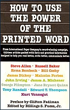 How to Use the Power of the Printed Word by…