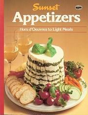 Appetizers de Sunset Books
