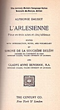 L'Arlésienne by Alphonse Daudet