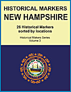 Historical Markers NEW HAMPSHIRE (Historical…