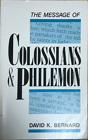The Message of Colossians & Philemon de…