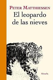El leopardo de las nieves de Peter…