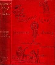 Nonsense books : With all the original illus…