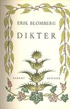 Dikter by Erik Blomberg