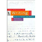 The Subject Is Writing av Wendy Bishop