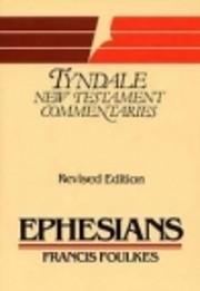 EPHESIANS ( Tyndale New Testament…