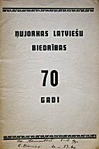 Ņujorkas latviešu biedrības 70 gadi by…