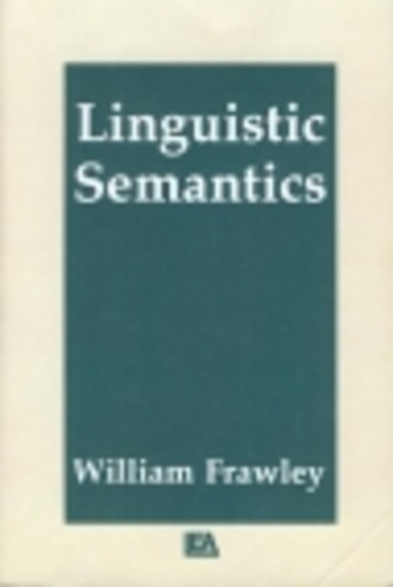 lingustic semantics The first quarter focuses primarily on pragmatics: those aspects of meaning that arise from the way that speakers put language to use, rather than through the formal properties of the linguistic system itself, which is the domain of semantics.