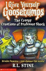 The Creepy Creations of Professor Shock…