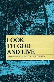 Look to God and live;: Discourses of Marion…