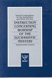 Instr Concern Worship Euch – tekijä:…