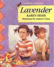 Lavender de Karen Hesse