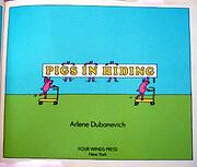 Pigs in hiding de Arlene Dubanevich