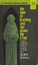 The Love of Learning and The Desire for God:…