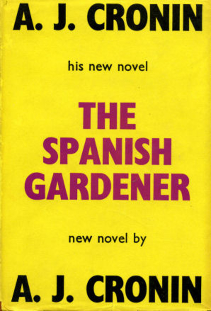The Spanish Gardener cover