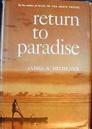 Return to Paradise – tekijä: James A.…