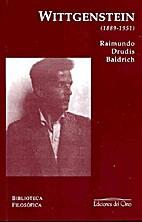 Ludwig Wittgenstein (1889-1951) by Raimundo…